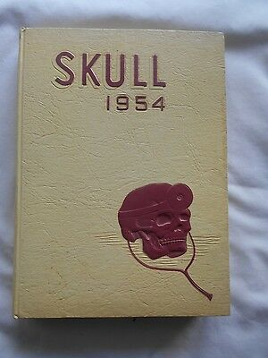 Skull 1954 Yearbook-Temple University,Philadelphia