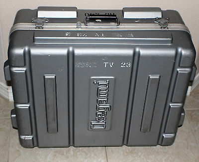 Thermodyne Ikegami  Flight Case with working latches and Foam Inserts