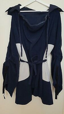 MaM Babywearing/Maternity Tunic Polar Fleece - Navy (L/XL) - NEW