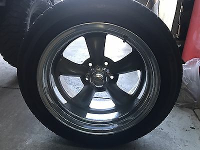 4x American Racing Torq Thrust 2 17 Inch With Tyre's