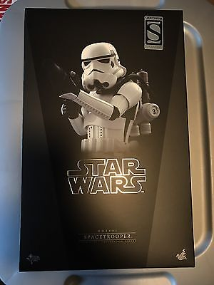 Hot Toys Mms291 Star Wars Spacetrooper Stormtrooper New Sideshow Exclusive 1/6