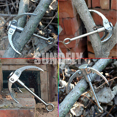 Climbing claws / Iron - Load 300kg Steel For bush craft Survival Extreme Hiking