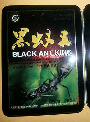 Black Ant King/Green ant natural herbal 10 PILLS SAME DAY SHIP PLEASE READ