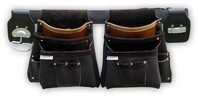 Trade Time 100Deluxe - Six Pouch  Double Carpenter Nail Bag