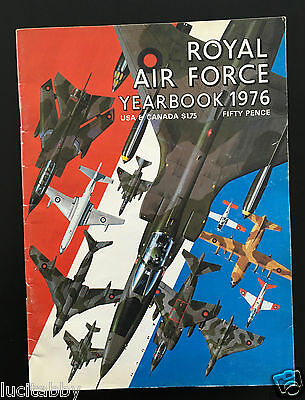 RAF Royal Air Force Yearbook 1976 Magazine Aircraft Illustrated Military Planes