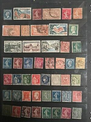 stamps  France - Early Used - Lot 620