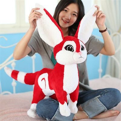 Cuddly Soft Stuffed Animals Fox Toys Plush Anime Cartoon Fox Pillow Doll 50cm