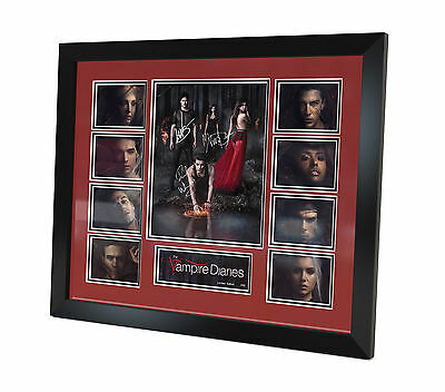 The Vampire Diaries - Signed Photo - Memorabilia - Framed - Limited Edition