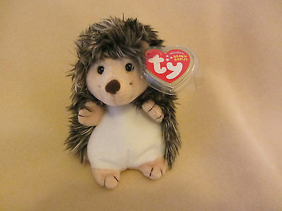Ty Mwmt Prickles The Hedgehog Beanie Baby- 2010 Version- Adorable And Rare!