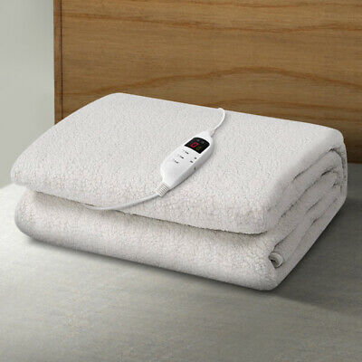 9 Setting Fully Fitted Electric Blanket - Single