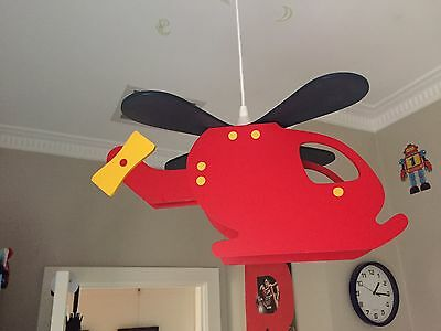 Kids Helicopter Light Shade