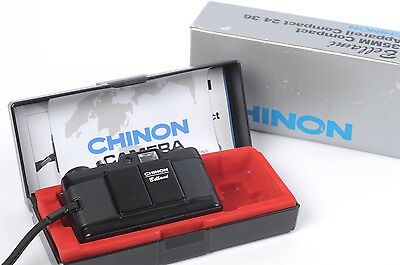 Chinon Bellami Compact f/2.8 35mm Film Party Street Camera Lens