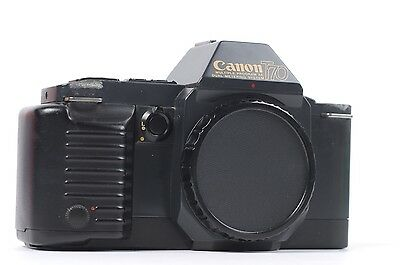 Canon T70 FD Manual Focus - 35mm SLR Student Film Street Camera Body Only