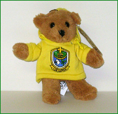 Large Roscommon GAA Teddy Bear Backpack Bag Suitcase Zip Keyring Croke Park Eire