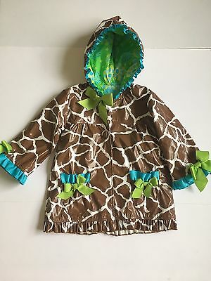 MUD PIE Rain Coat Infant Girls Size 12-18 Months