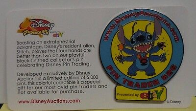Disney Pin Disney Auctions Stitch Pin Trader 626 Pin LE