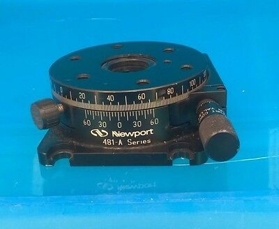Newport 481-A Precision Rotation Stage w/ Micrometer Excellent!!!