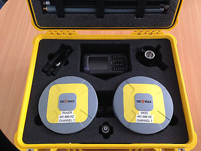 Geomax/Leica Zenith20 (RTK GPS Base/Rover Set) NEW
