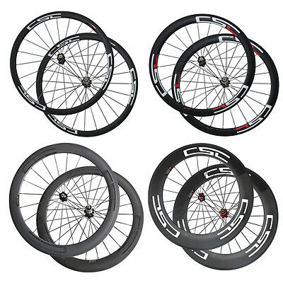 CSC Bike wheelset 38mm 50mm 60mm 88mm Clincher Tubular Carbon Road Bike Wheels