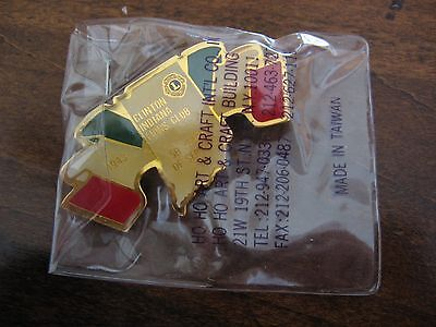 Vintage Lions Club Pin Clinton Indiana 1993