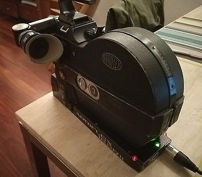 ARRIFLEX 16 SR2 SR II 16mm movie camera - battery/charger and magazines included