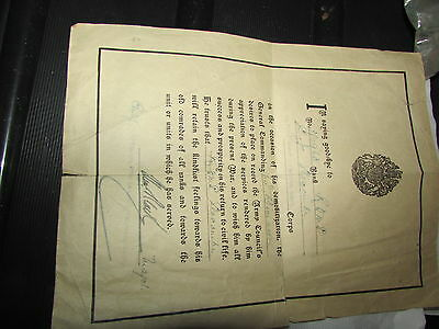 WW1 British 64th Division Soldier's Farewell Letter  Named CQMS