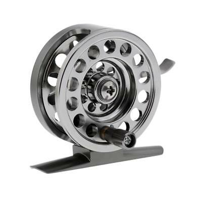 Ice Fishing Reel Fly Reels Round Portable Smooth Winter Fishing Tackle Reel