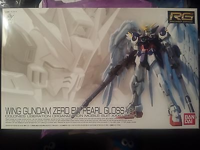 Bandai Exclusive 1/144 Rg Wing Gundam Zero Ew Pearl Gloss Ver. Model Kit