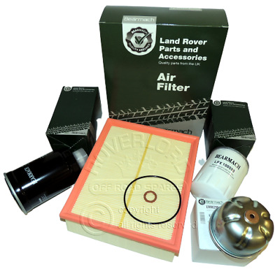 Land Rover Discovery Series 2 TD5 & DEFENDER  - TD5 Filter Service kit PROMO
