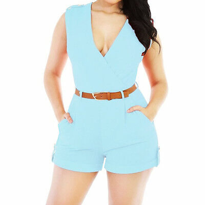 Playsuit Romper Jumpsuit Women Trousers Party Bodycon Holiday New Lace Clubwear
