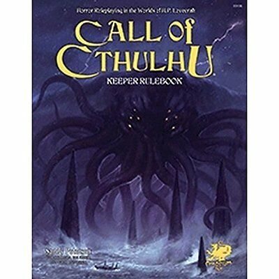Call of Cthulhu Rpg Keeper Rulebook: Horror Roleplaying in the Worlds