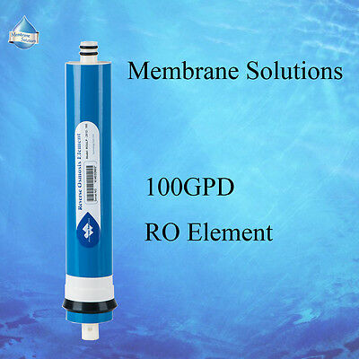100GPD MS® 5 Stage Water Reverse Osmosis Kit RO Membrane Full Replacement Filter