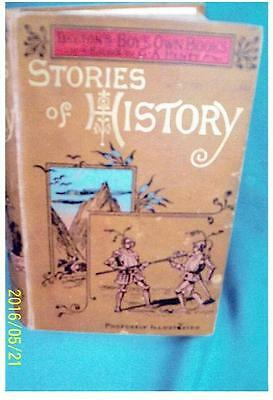 Beeton's Boys Own Book- Stories Of History.