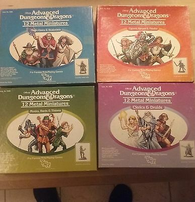 Advanced Dungeons&Dragons TSR miniature sets