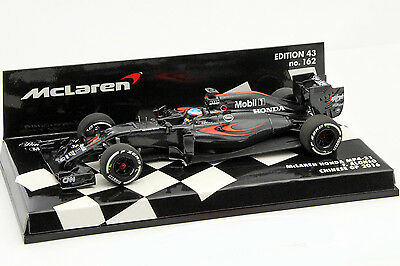 Fernando Alonso McLaren MP4-31 #14 China GP Formel 1 2016 1:43 Minichamps