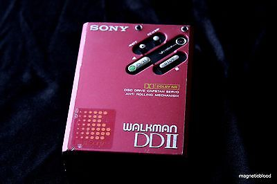 Sony Walkman WM-DD2 DDII, restored 100% , decent condition