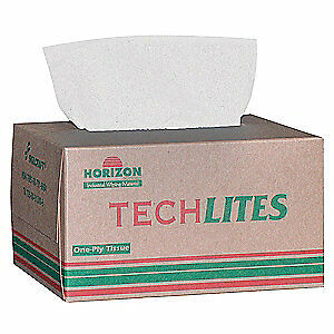 ABILITY ONE Paper Dispsbl Wipes,4-1/2 In x 8-3/8 In,PK60, 7920-00-721-8884