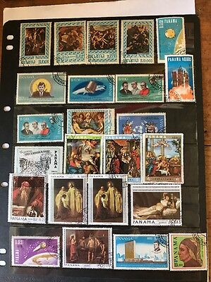 stamps  Panama - Used - Lot 309