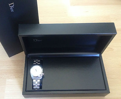 NIB Dior Homme Chiffre Rouge A3 watch CD084510 36MM Steel manual gift box