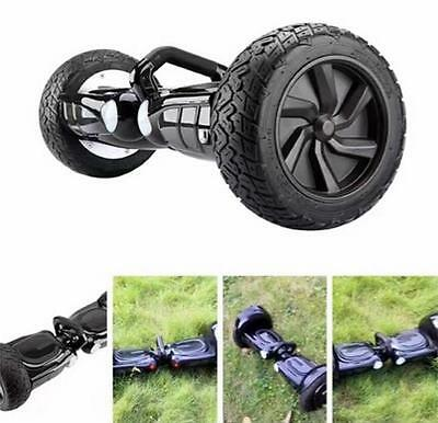 "Electric Skateboard Balancing Scooter 8"" Off-Road 2 Wheels Bluetooth & LED Light"