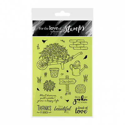 Barrow in Bloom - For the Love  of Stamps Clear Stamp Set - Hunkydory