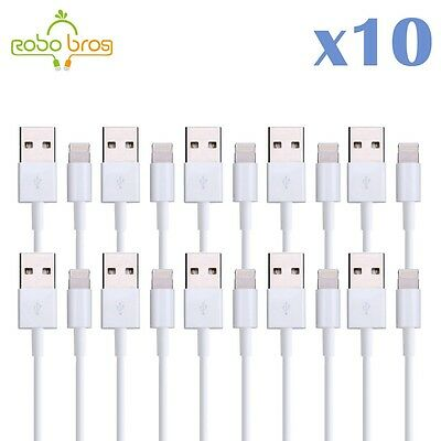 10 Pack 3FT 8Pin USB Data Sync Charger Cable Cord for iphone 5s 6 7 8 8+ X