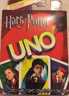 Harry Potter UNO Card Game RARE UNOPENED 2005