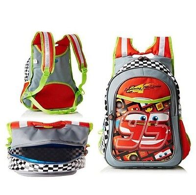 Disney Cars School Bag Junior Back PACk Red Holiday Travel Boys Bag Gift Novelty