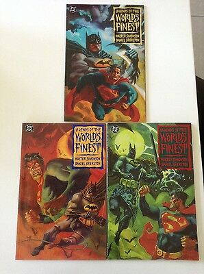 DC Legends of the Worlds finest Books 1, 2 & 3
