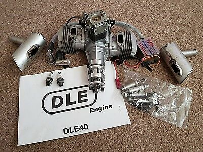 DLE 40 twin 40cc engine