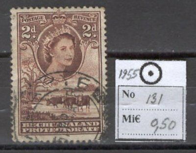 BoR1120 British Colonies 1955 used 1v Bechuanaland