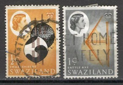 BoR1178 British Colonies 1965 used 2v SWAZILAND