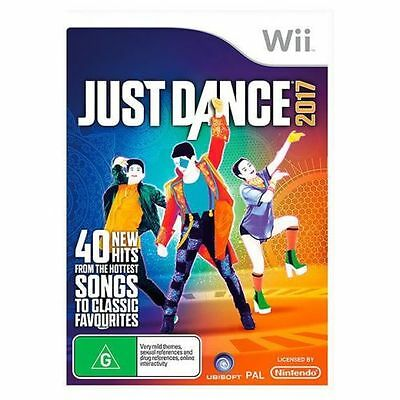 Just Dance 2017 Wii Games New Sealed PAL Nintendo A++++