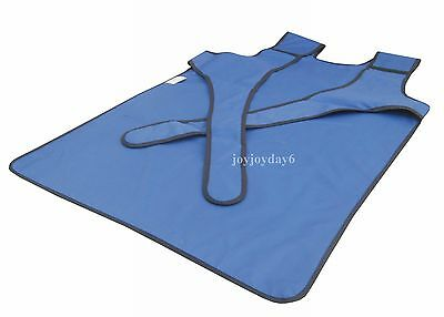 SanYi New Type X Ray Protection Protective Lead Vest Apron 0.35mmpb Blue FA07 S